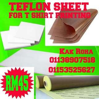 TEFLON ( Micro fiber for heatpress printing