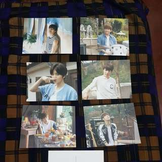 INFINITE Official POSTCARDS and PHOTOCARDS