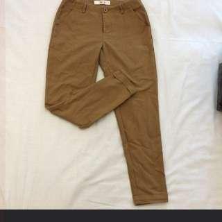 Excellent condition! Slim Brown Beige Pants!
