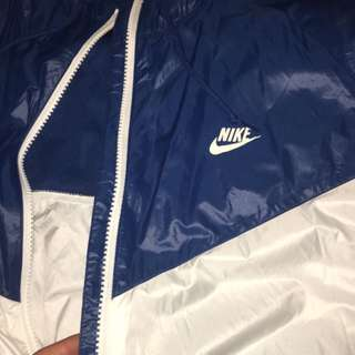 Nike Windbreaker Blue/White