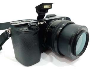 SONY A6000 with SONY E 16-50mm PZ OSS Lens, 24.3MP, Full HD 1080, WiFi, World Fastest AutoFocus