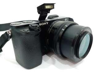 SONY A6000 with SONY E 16-50mm PZ OSS Lens, 24.3MP, Full HD 1080, WiFi, World Fastest AutoFocus