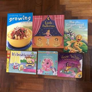 Children's books bundle