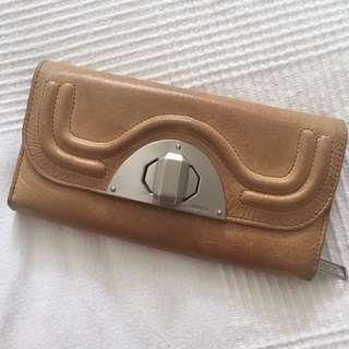 Mimco tan wallet