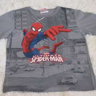 Marvel spiderman 10-12y boys