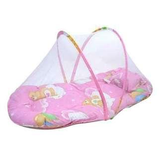 嬰兒折疊床罩組