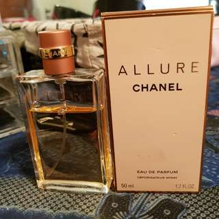 Chanel Allure Edp 50ml AUTHENTIC **price firm***