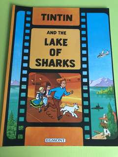 Adventures of tintin lake of sharks