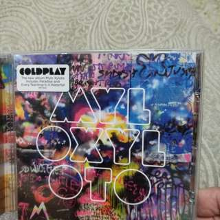 Cd, coldplay, MYLO XYLOTO