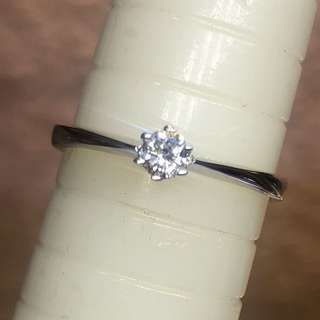 18kt diamond ring 💍 FIXED PRICE