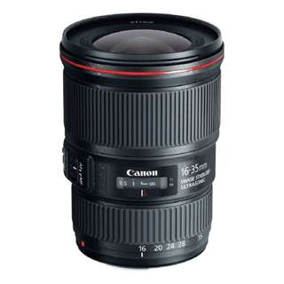 NEW Canon EF 16-35mm f4 L IS USM Lens (Canon 16-35)