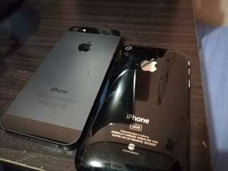defective iphone 5 and iphone 3gs