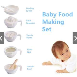 ❤️READY STOCK❤️ Baby Food Making Set BPA-Free
