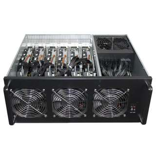 RX580 8GB 6卡礦機 連機箱