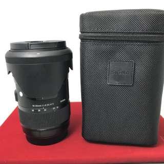 Sigma 18-35 F1.8 Art Canon