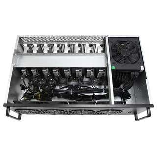 RX580 8GB 8卡礦機 連機箱