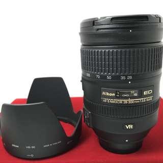 Nikon 28-300 F3.5-5.6