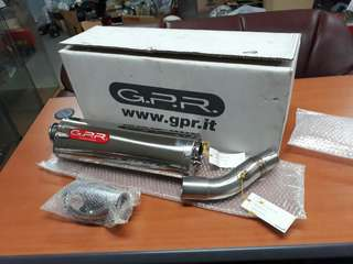 Exhaust GPR slip on for Honda CB400 revo