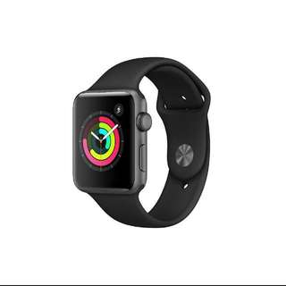Apple Watch 3 42mm (Space Grey) w/o cellular + 2 years warranty