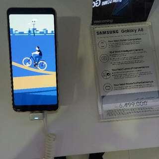 Kredit Samsung A8 cashback 100ribu cicilan tanpa kartu kredit