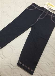 Baby denim legging
