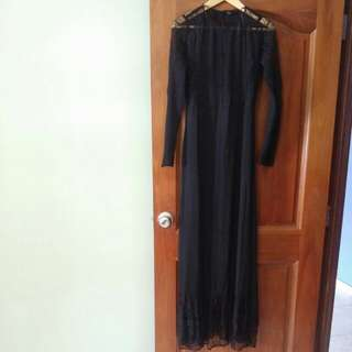 ZARA Black Long Dress