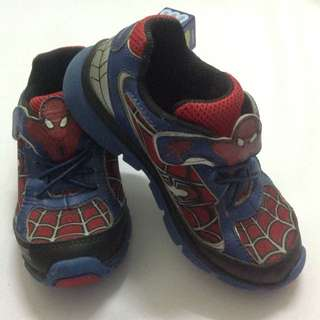 Spiderman Lighting Shoes