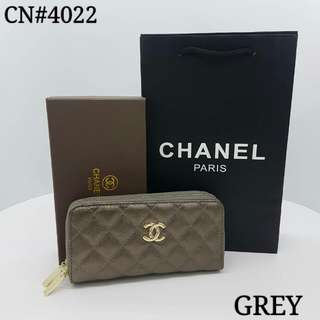 Chanel Purse Grey Color