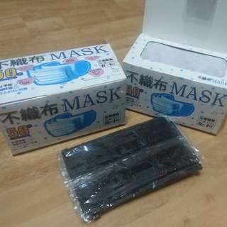 獨立包裝口罩10蚊10個,40蚊一盒50個