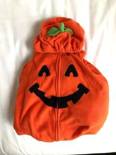 Pumpkin costume for baby
