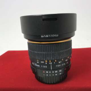 Samyang 8mm F3.5 Fisheye Nikon