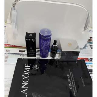 Lancome Masks Treatments Pouch