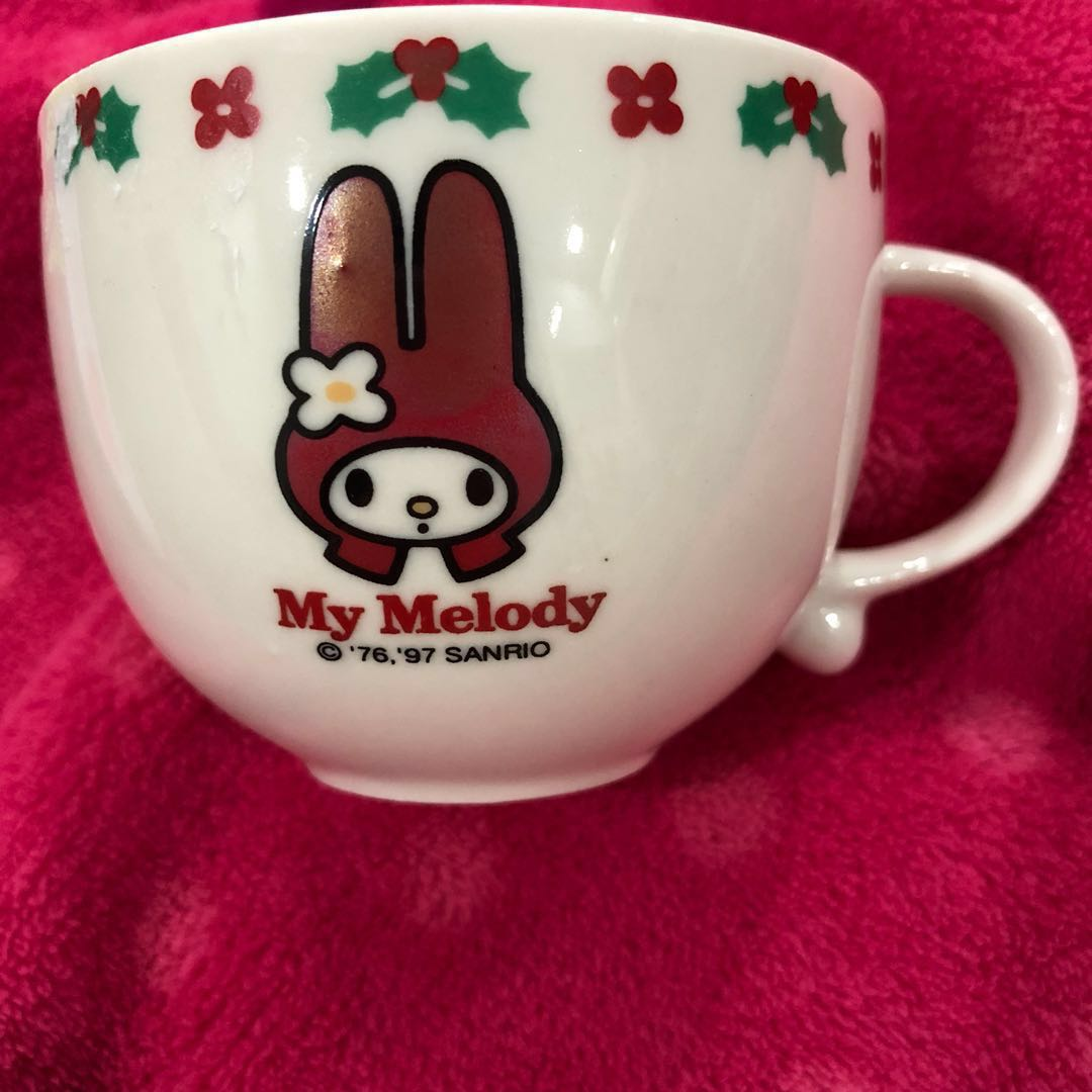 1997 my melody teacup