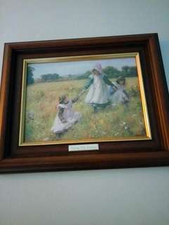 Old  painting from Great Britain  2pc x $80