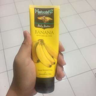 Body Butter Herborist Banana