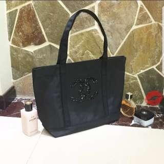 Chanel珠片手提袋