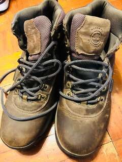 Timberland waterproof leather hiking boots us10
