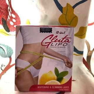 Gluta lipo whitening&slimming juice