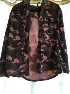Hoodie Camouflage jacket
