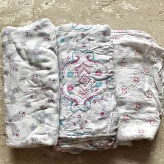 Aden & Anais Baby Swaddle Bundle