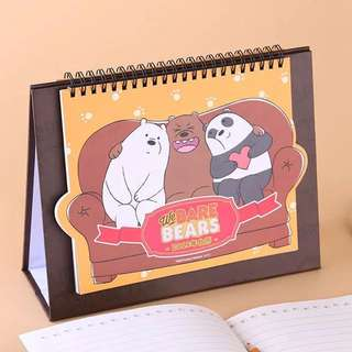 We Bare Bears 2018 Calendar