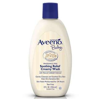 Aveeno Baby Soothing Creamy Wash