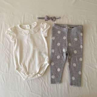 H&M Baby Girl Set