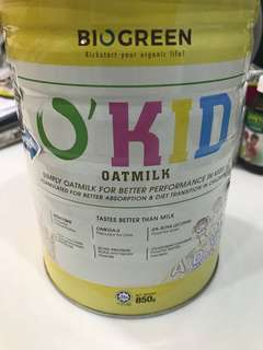 Biogreen O'Kid oatmilk