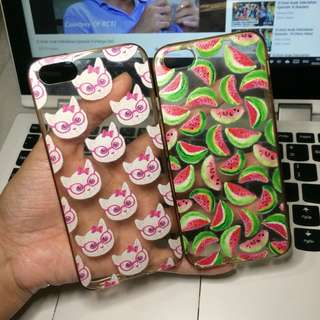 Iphone 5s case kucing & semangka