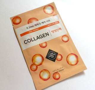 Etude House 0.2mm collagen face mask