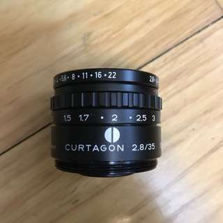 Schneider Kreuznach Baby C Curtagon 35mm 2.8 M42 Mount (Heavy version)