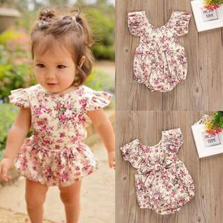 Baby romper so nice in actual 6-12mo
