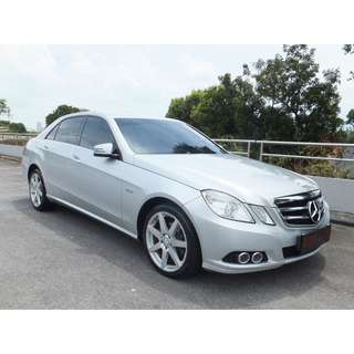 Mercedes-Benz E200 Saloon Auto