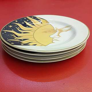 Small Plates Ceramic 4 pcs